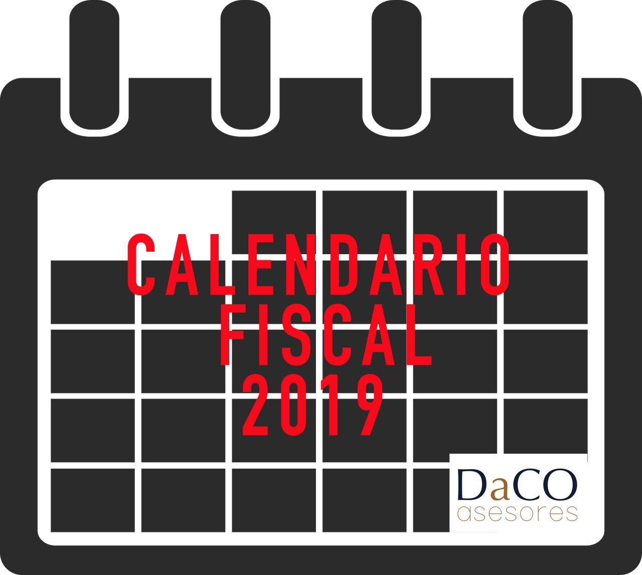 Calendario Autonomos 2019.Calendario Fiscal 2019 De Navarra Daco Asesores